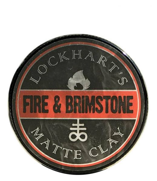 Lockhart's Fire & Brimstone Matte Clay 105g