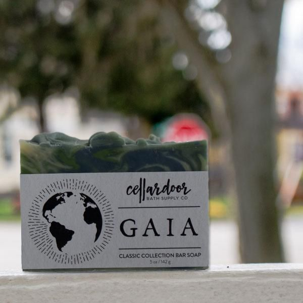 Cellardoor Bath Supply Co. Gaia Bar Soap - Seifenstück 142g