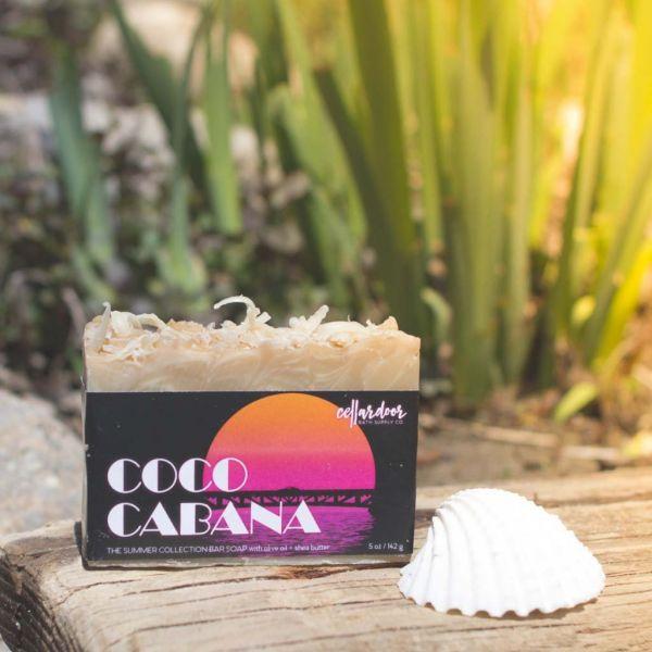 Cellardoor Bath Supply Co. Coco Cabana Bar Soap 142g