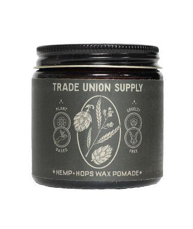 Trade Union Supply Hemp + Hops Wax Pomade 113g