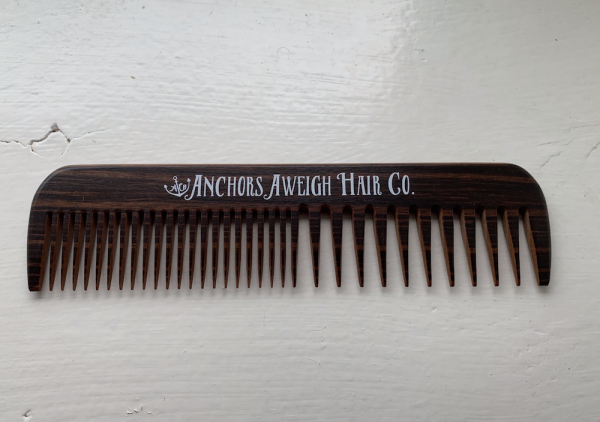 Anchors Hair Company Wooden Comb