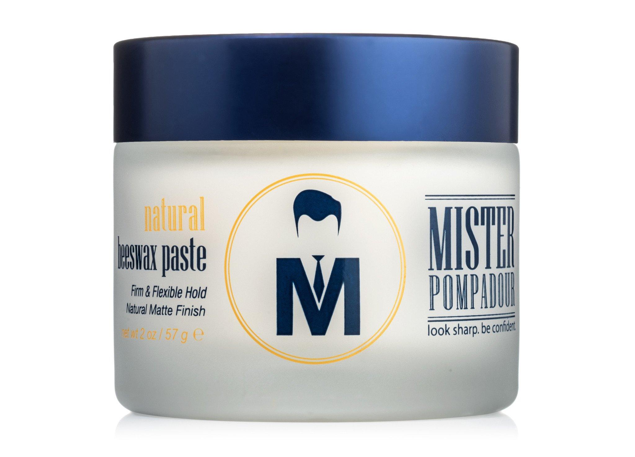 Mister Pompadour Natural Beeswax Paste Sprezstyle Men