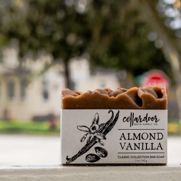 Cellardoor Bath Supply Co. Almond Vanilla Bar Soap 142g
