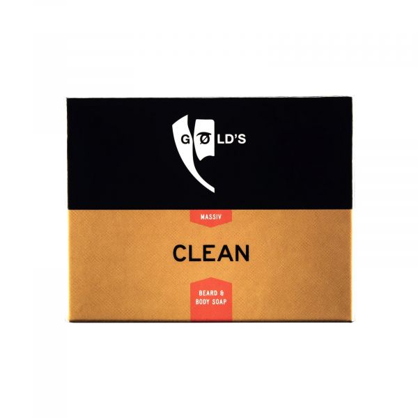 GØLD's Clean - Body and Beard Soap 100g