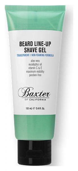 Baxter of California Beard Line-Up Shave Gel 100ml - Rasiergel