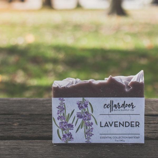 Cellardoor Bath Supply Co. Lavender Bar Soap - Seifenstück 142g