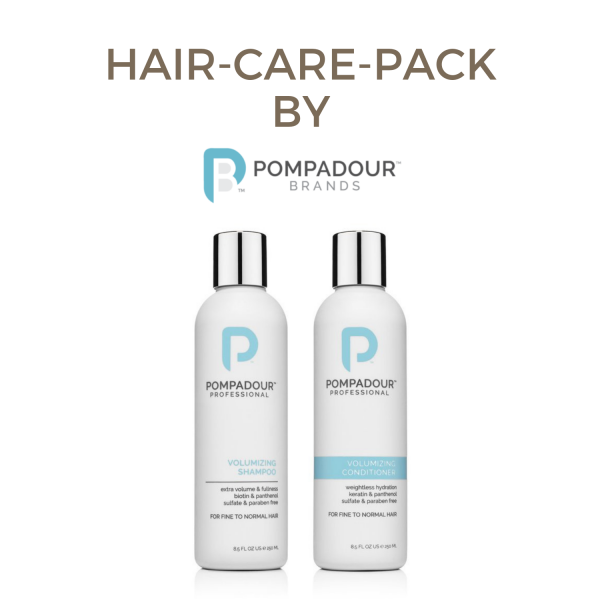 Pompadour Professional Volumizing Shampoo/Conditioner Pack 0,5l