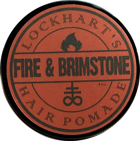 Lockhart's Fire & Brimstone Heavy Hold Pomade 113g
