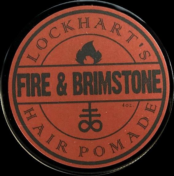 Lockhart's Fire & Brimstone Heavy Hold Pomade 113g