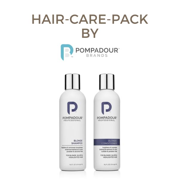 Pompadour Professional Blonde Shampoo/Conditioner Pack 0,5l