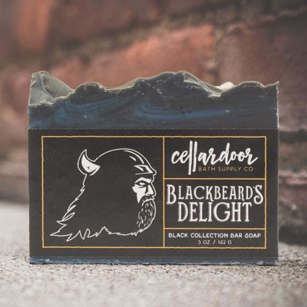 Cellardoor Bath Supply Co. Blackbeard's Delight Bar Soap 142g