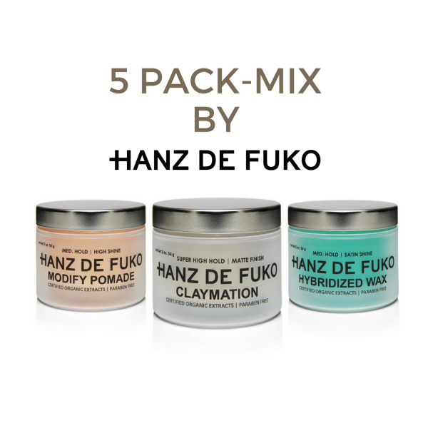 5-Pack-Mix-Hanz-de-Fuko-Sprezstyle-Mens-Grooming