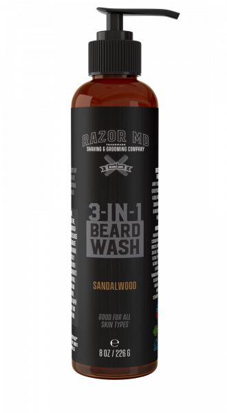 Razor MD Beard Wash 226g - Bartshampoo