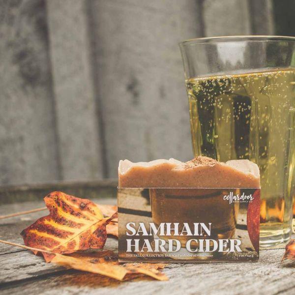 Cellardoor Bath Supply Co. Samhain Hard Cider Bar Soap - Seifenstück 142g
