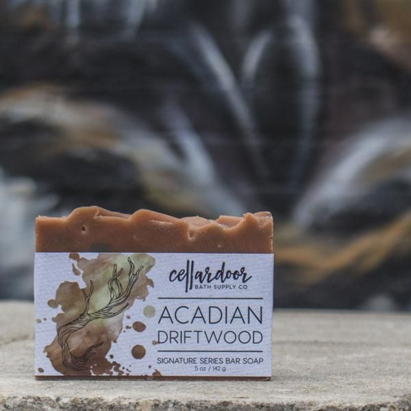 Cellardoor Bath Supply Co. Acadian Driftwood Bar Soap 142g