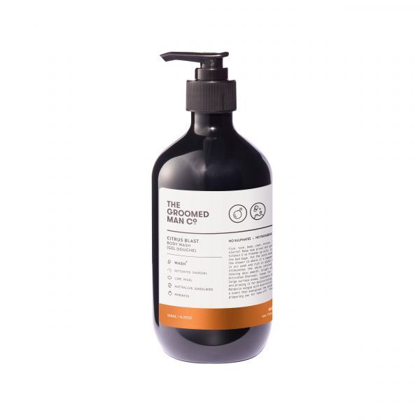 The Groomed Man Co. Citrus Blast Body Wash 0,5l
