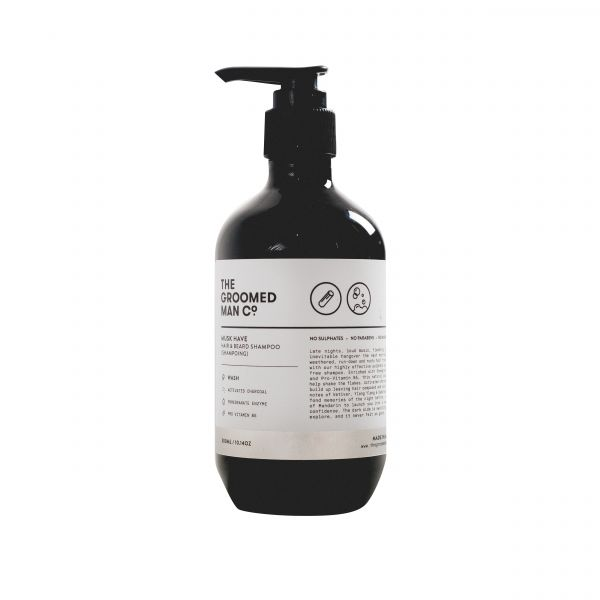 The Groomed Man Co. Hair & Beard Shampoo 300ml