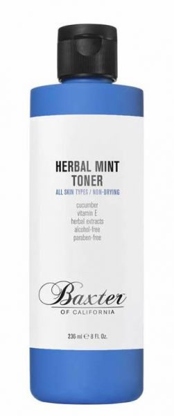 Baxter of California Herbal Mint Toner 236ml - Gesichtswasser