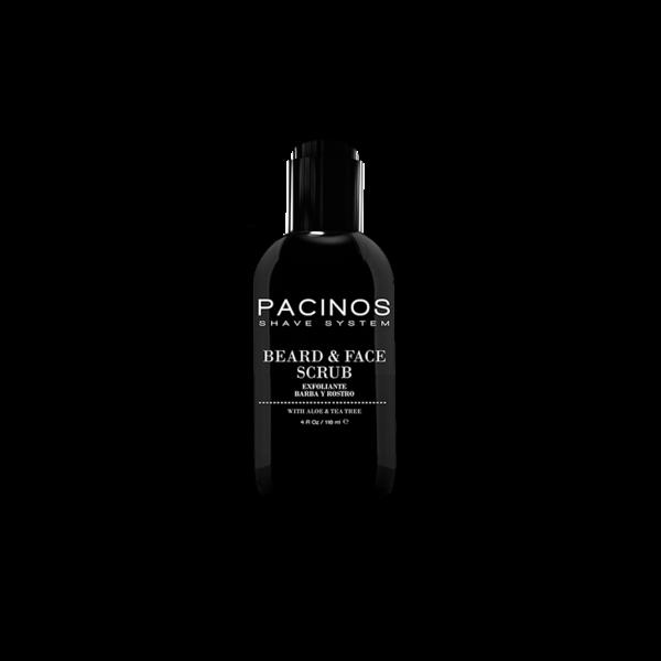 Pacinos Beard & Face Scrub - Bart- und Gesichtspeeling 118ml