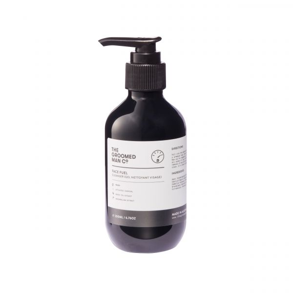 The Groomed Man Co. Face Fuel Cleanser 200ml
