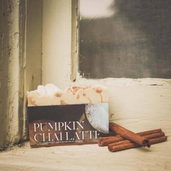 Cellardoor Bath Supply Co. Pumpkin Chai Latte Bar Soap - Seifenstück 142g