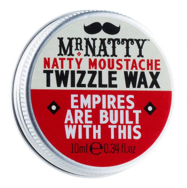 Mr Natty Moustache Twizzle Wax 10g - Schnurrbartwachs